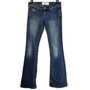 Holister So Cal Stretch Low Rise Bootcut Jeans